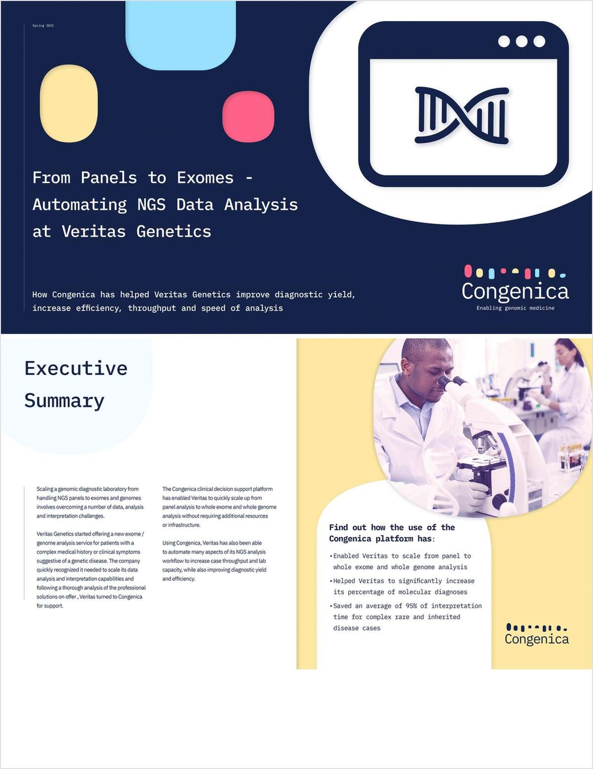 From Panels to Exomes - Automating NGS Data Analysis at Veritas Genetics