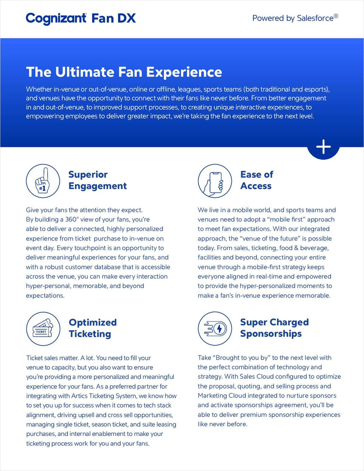 The Ultimate Fan Experience