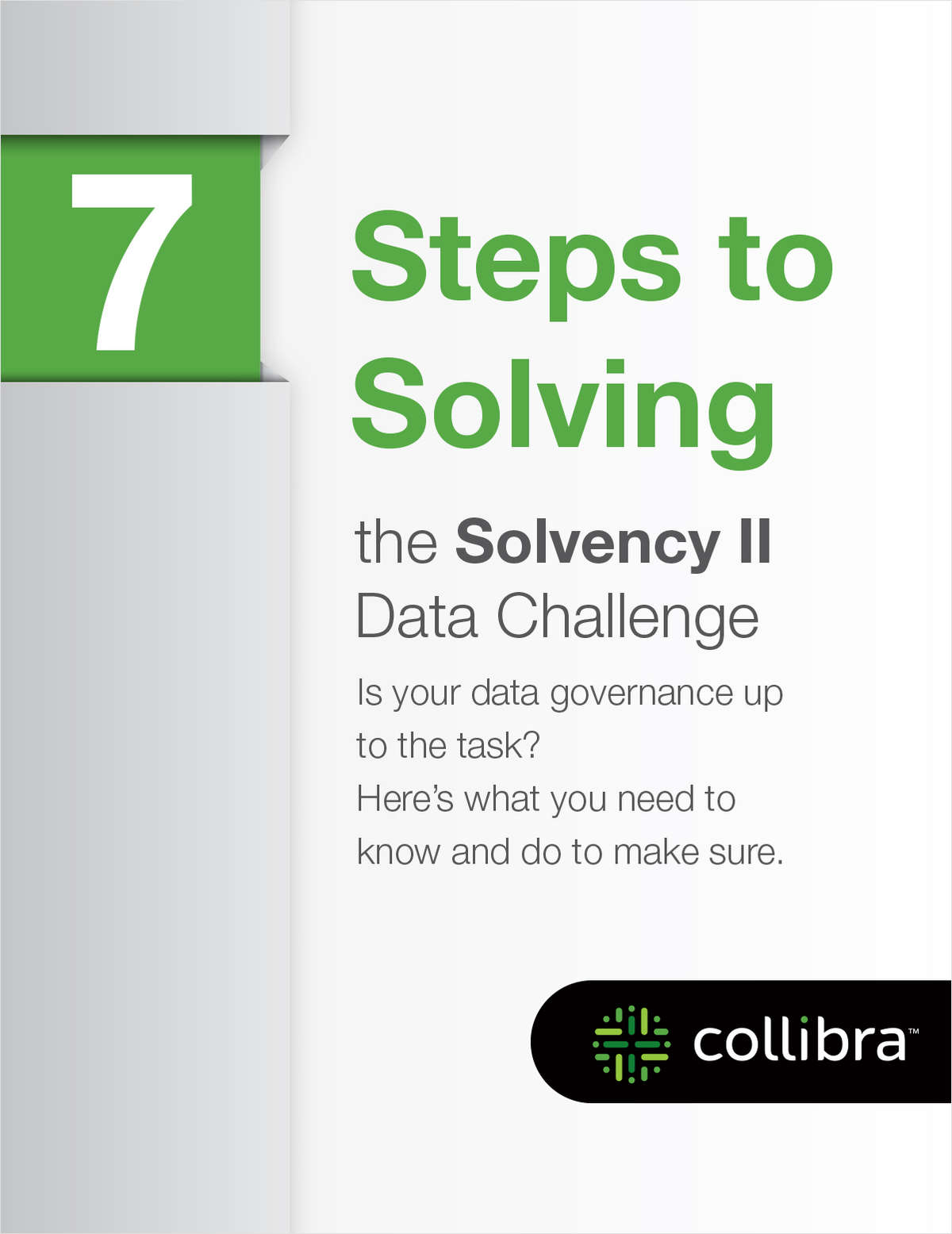 7 Steps to Solving your Solvency II Data Challenges
