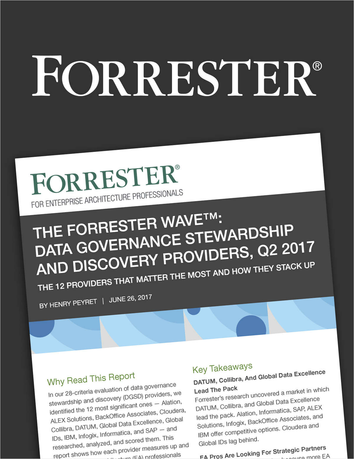 The Forrester Wave™: Data Governance Stewardship and Discovery Providers