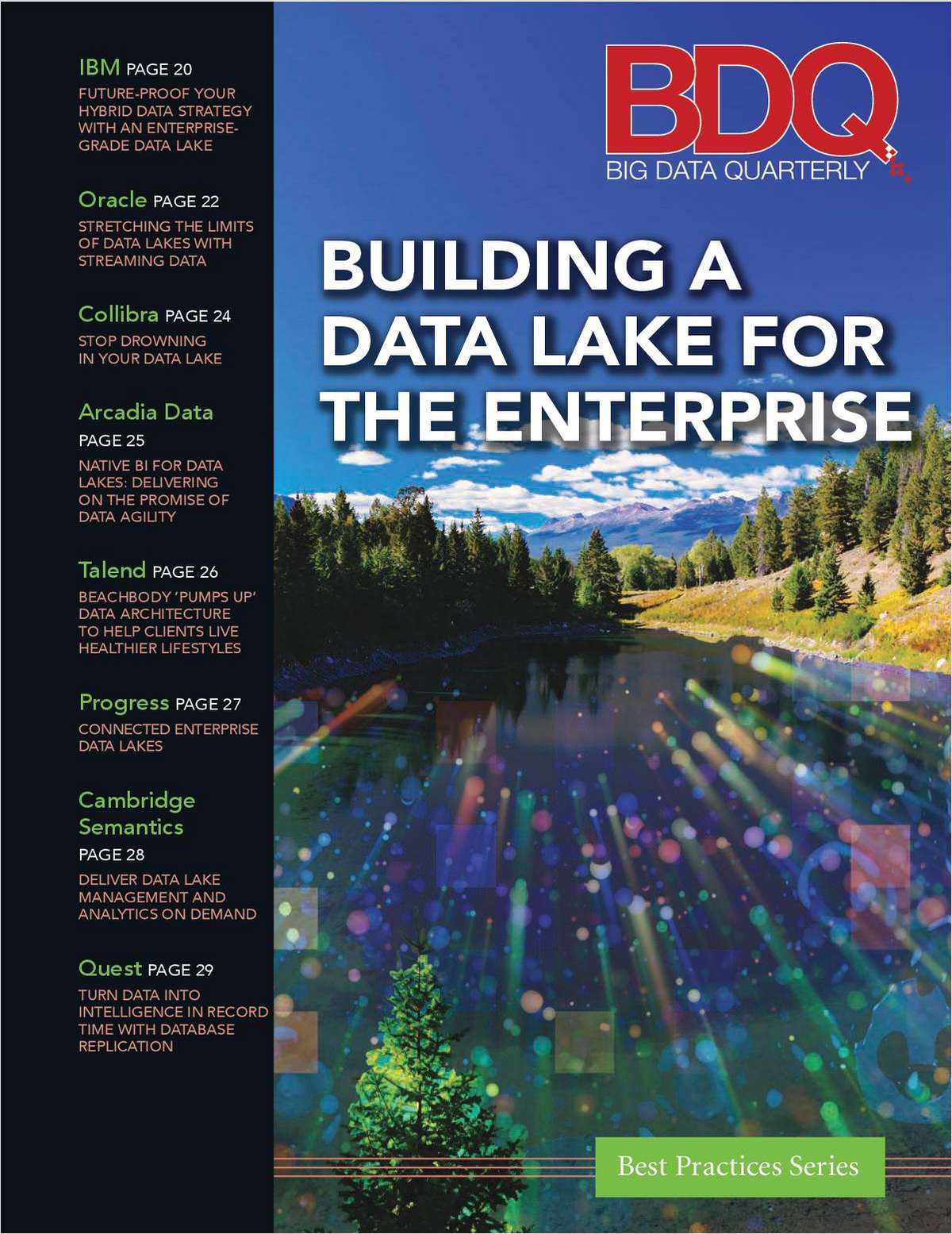 Building a Data Lake for the Enterprise