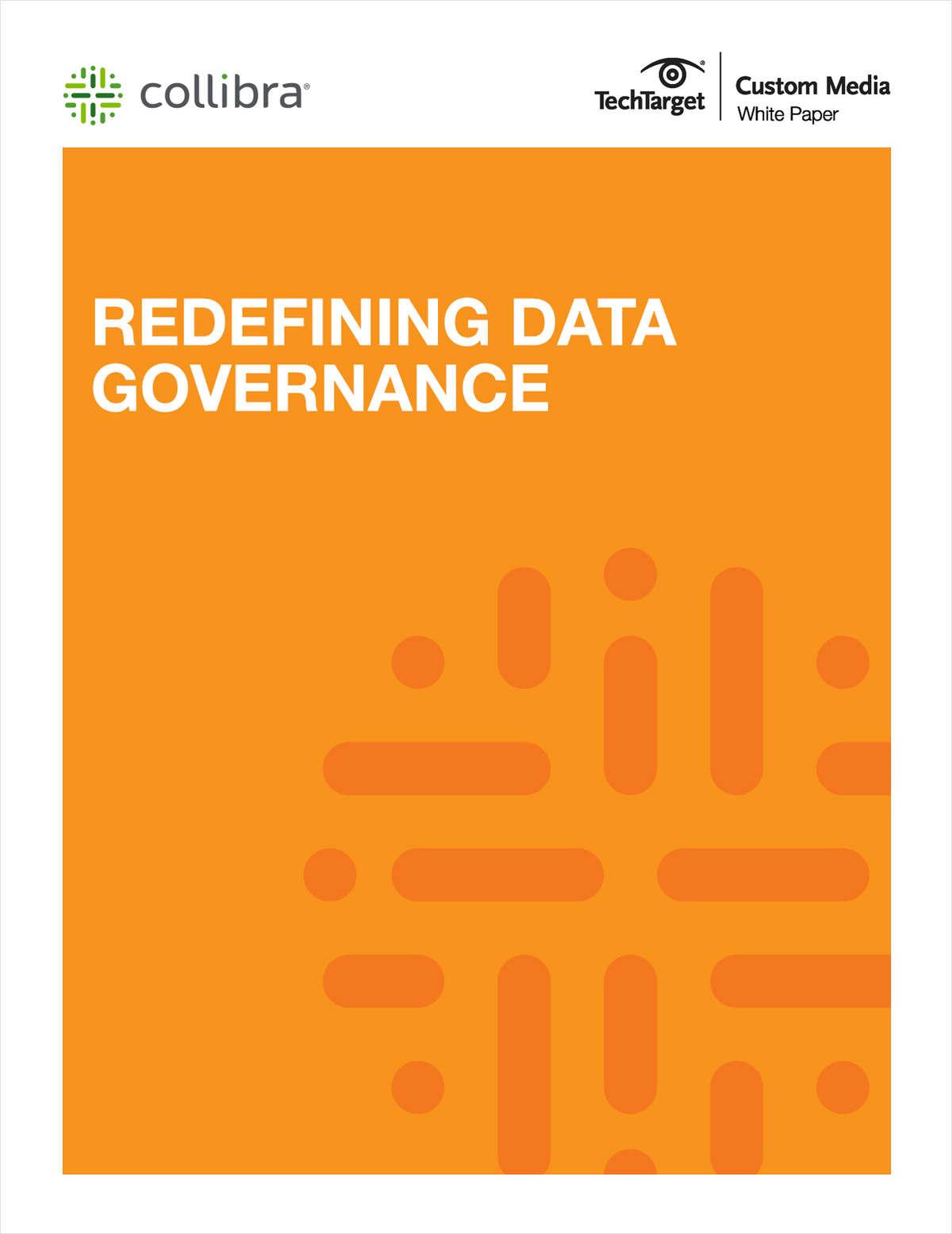 Redefining Data Governance