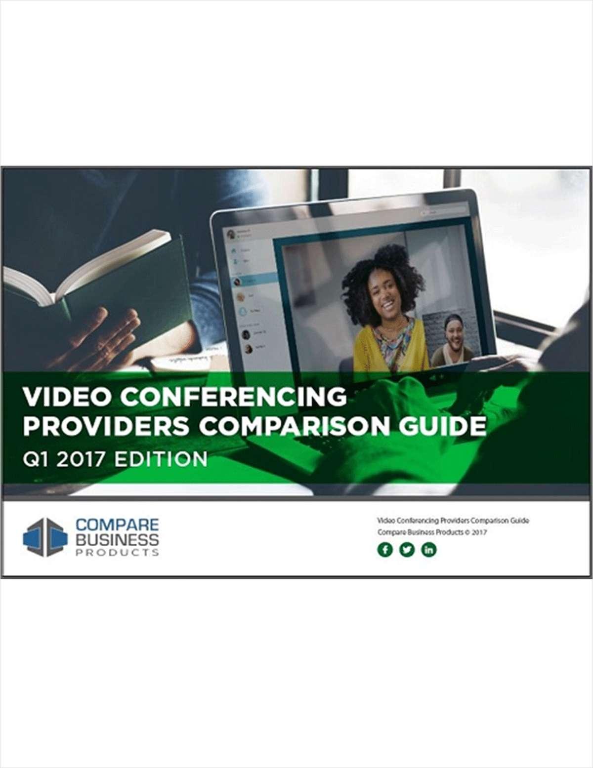 The New 2017 Video Conferencing Comparison Guide