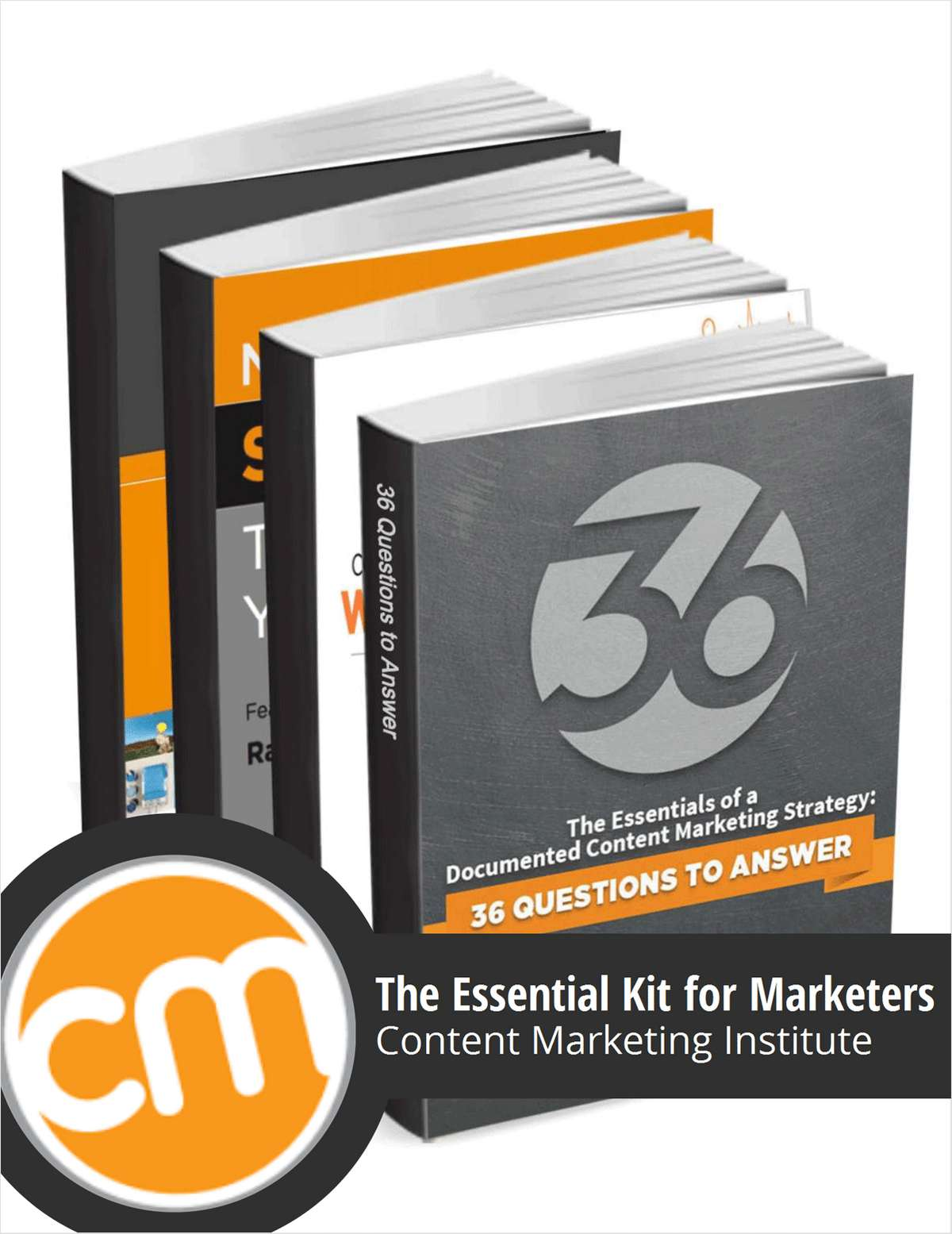 The Content Marketing Institute Original 4-Book Bundle