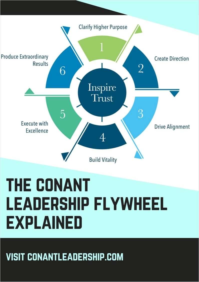 The ConantLeadership Flywheel Explained