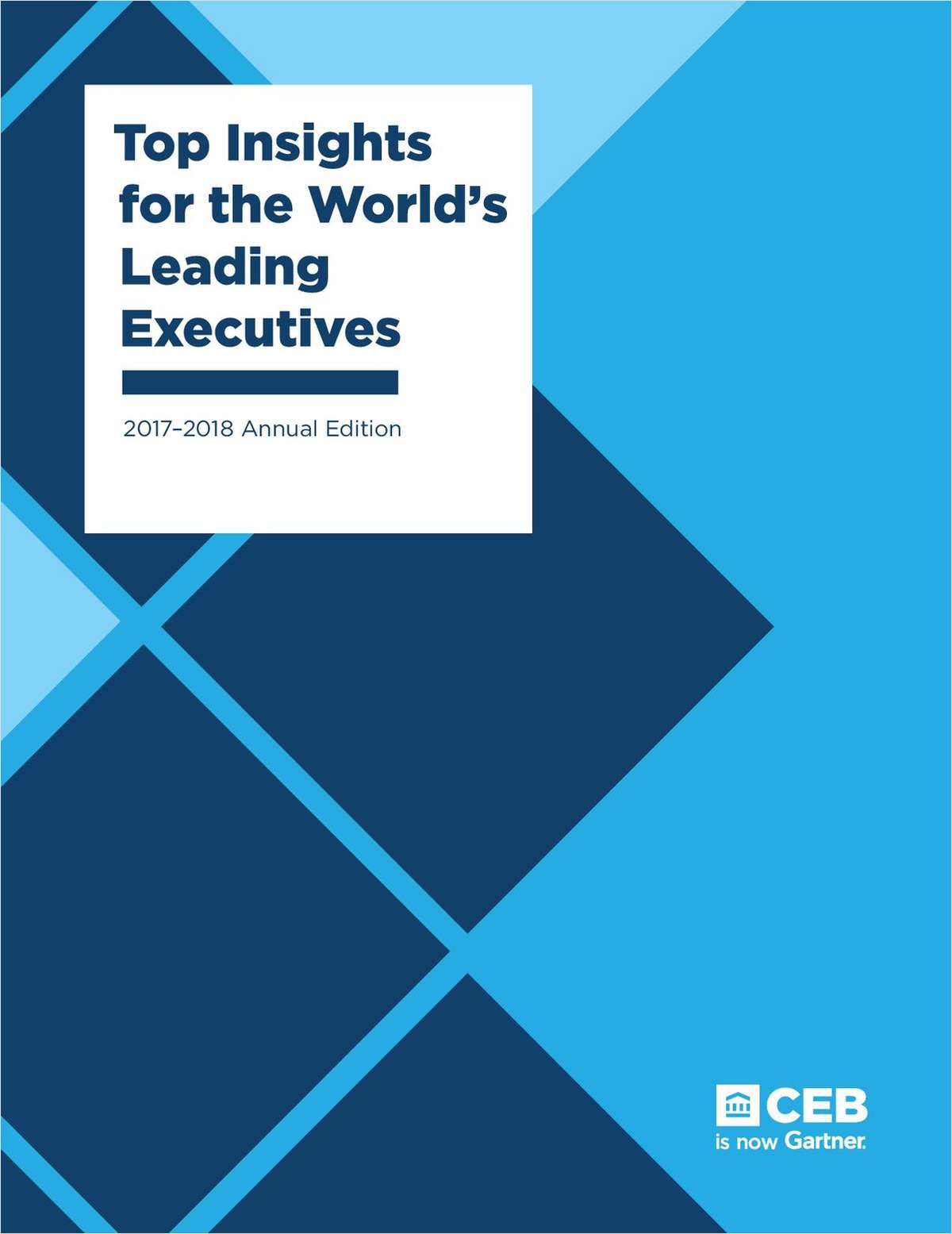 2017-2018 Top Insights for Sales, Marketing and Communications Leaders