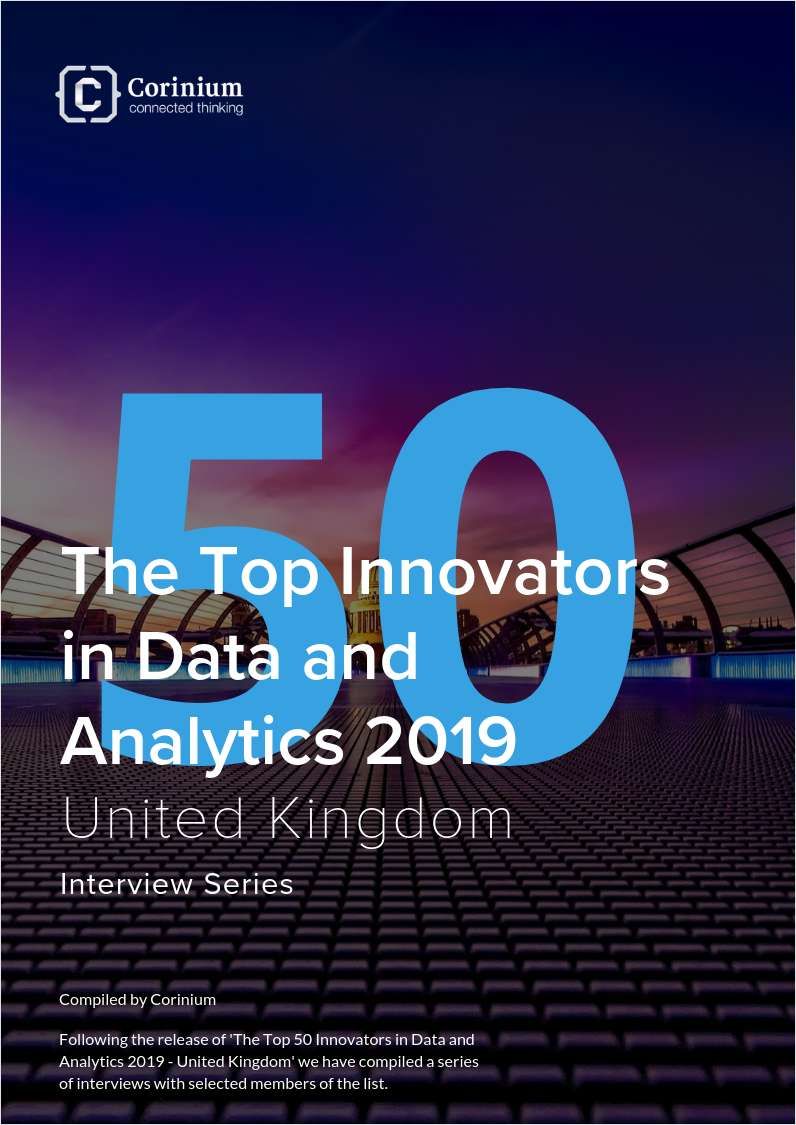 The Top 50 Innovators in Data and Analytics 2019 - United Kingdom