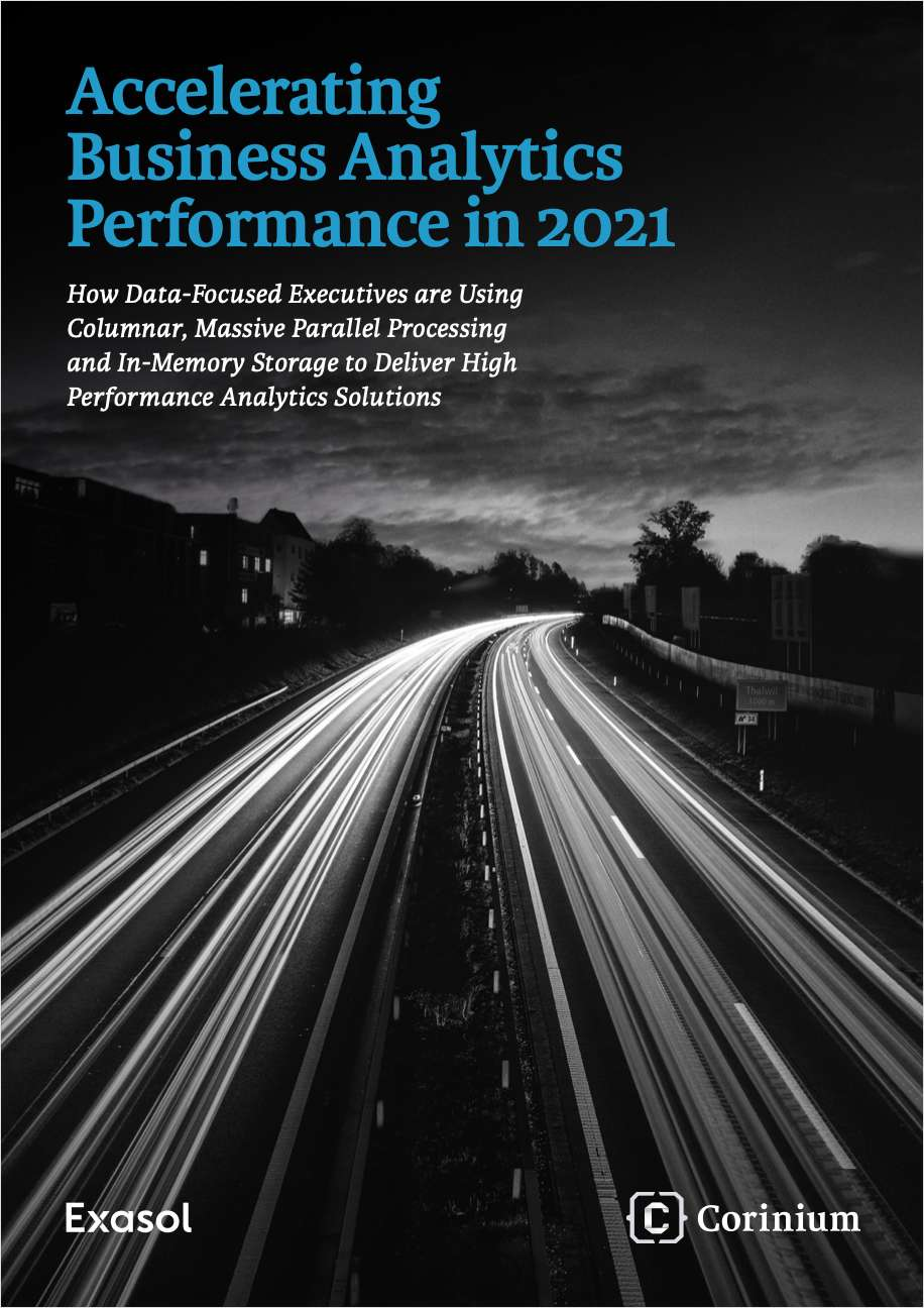 Accelerating Business Analytics Performance in 2021