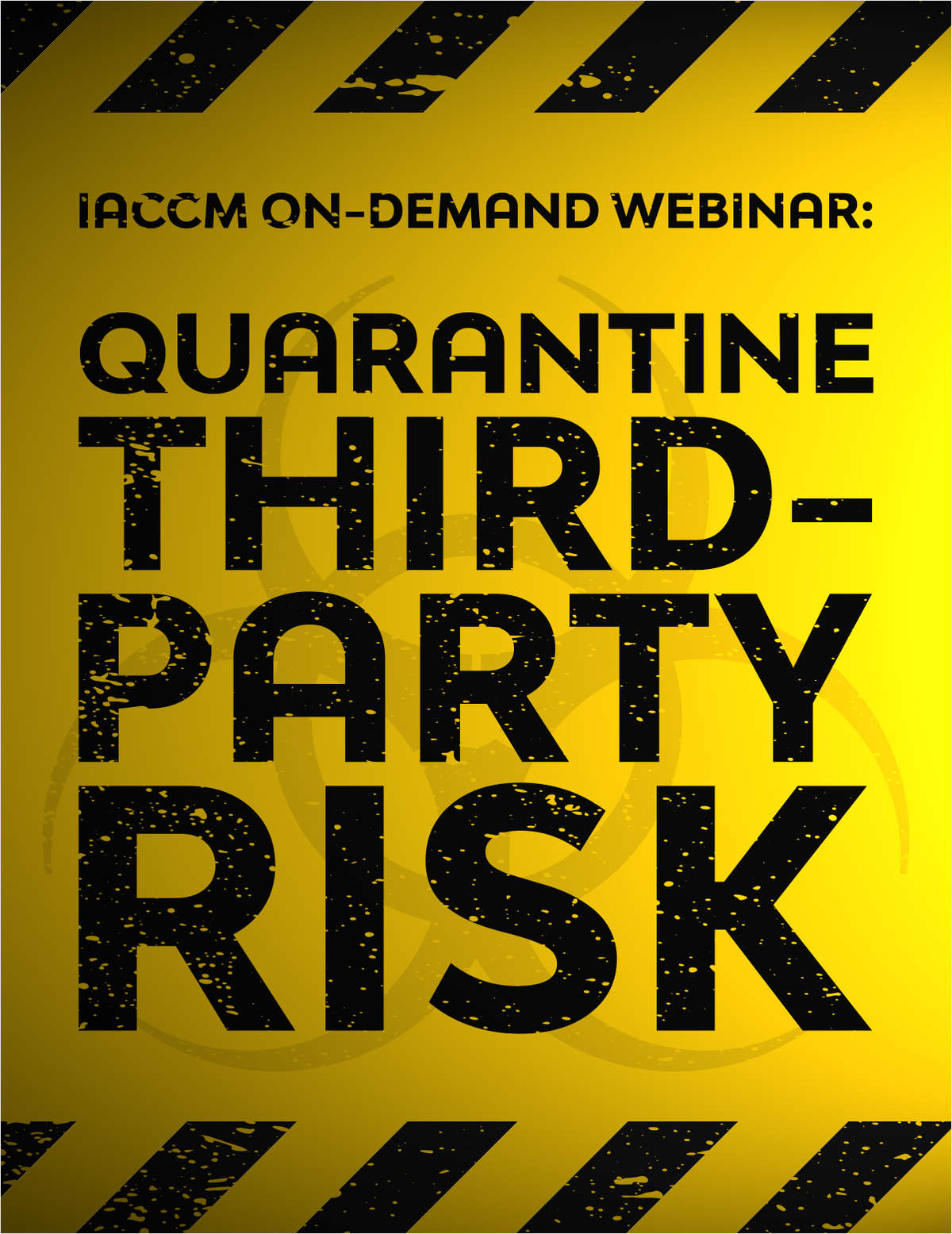 How to Quarantine Your 3rd Party Risk