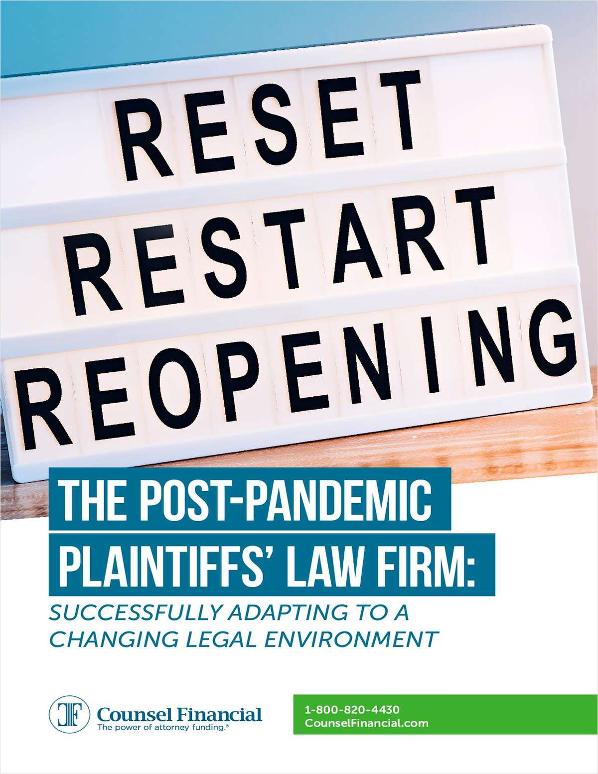 The Post-Pandemic Firm: Successfully Adapting to a Changing Legal Environment