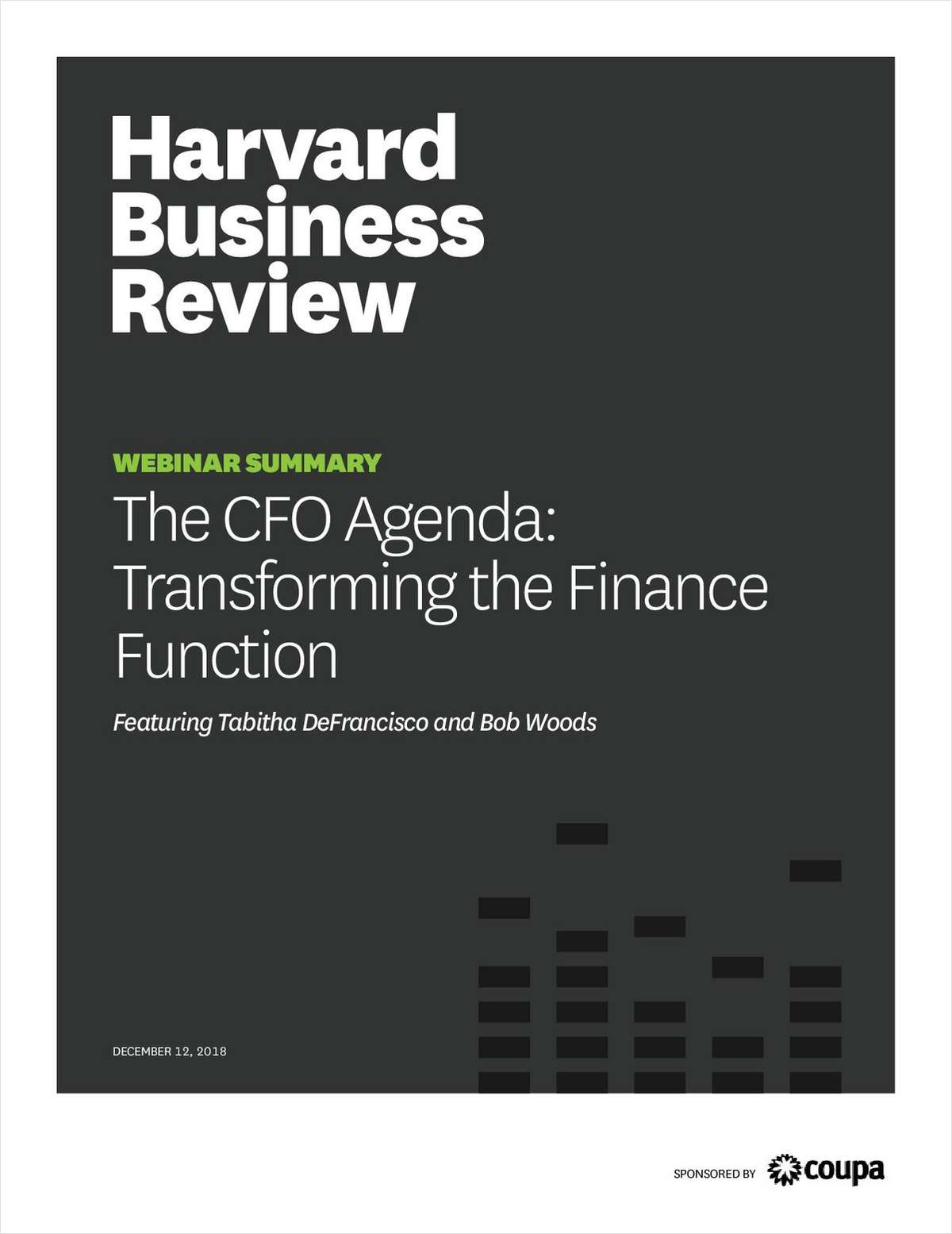 THE CFO AGENDA: TRANSFORMING THE FINANCE FUNCTION