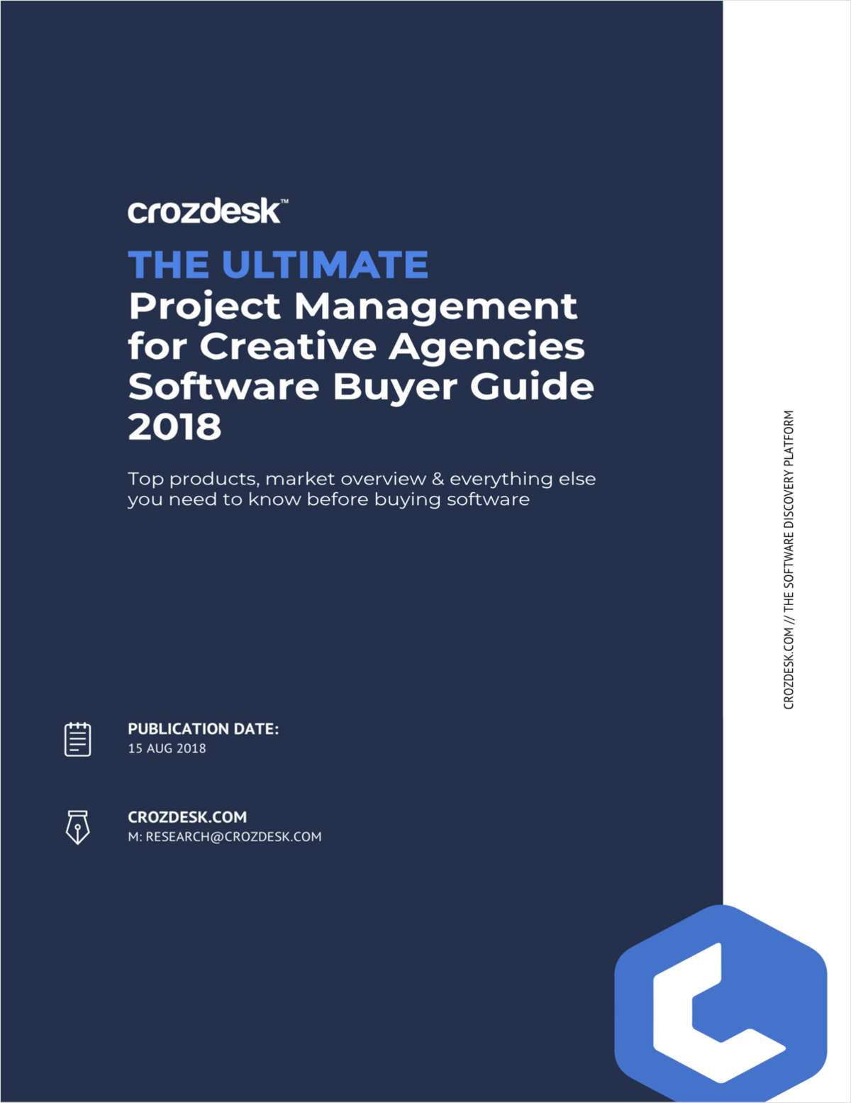 Project Management for Creative Agencies Buyer Guide 2018