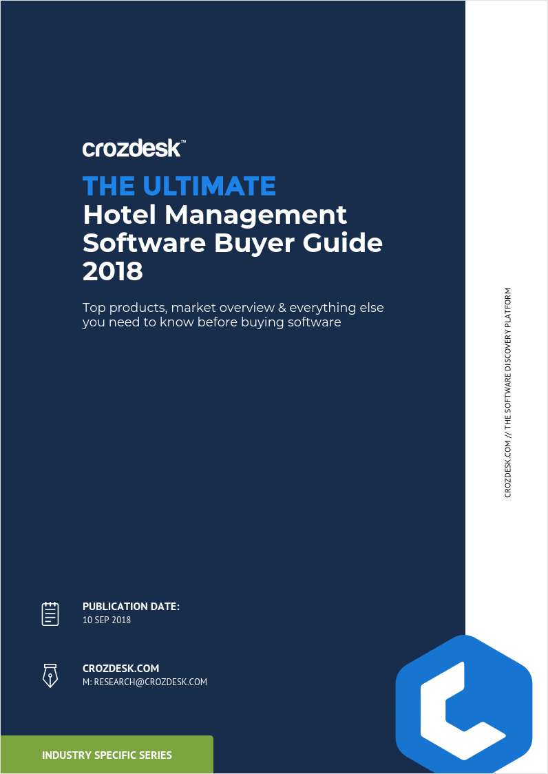 Hotel Management Software Buyer Guide 2018