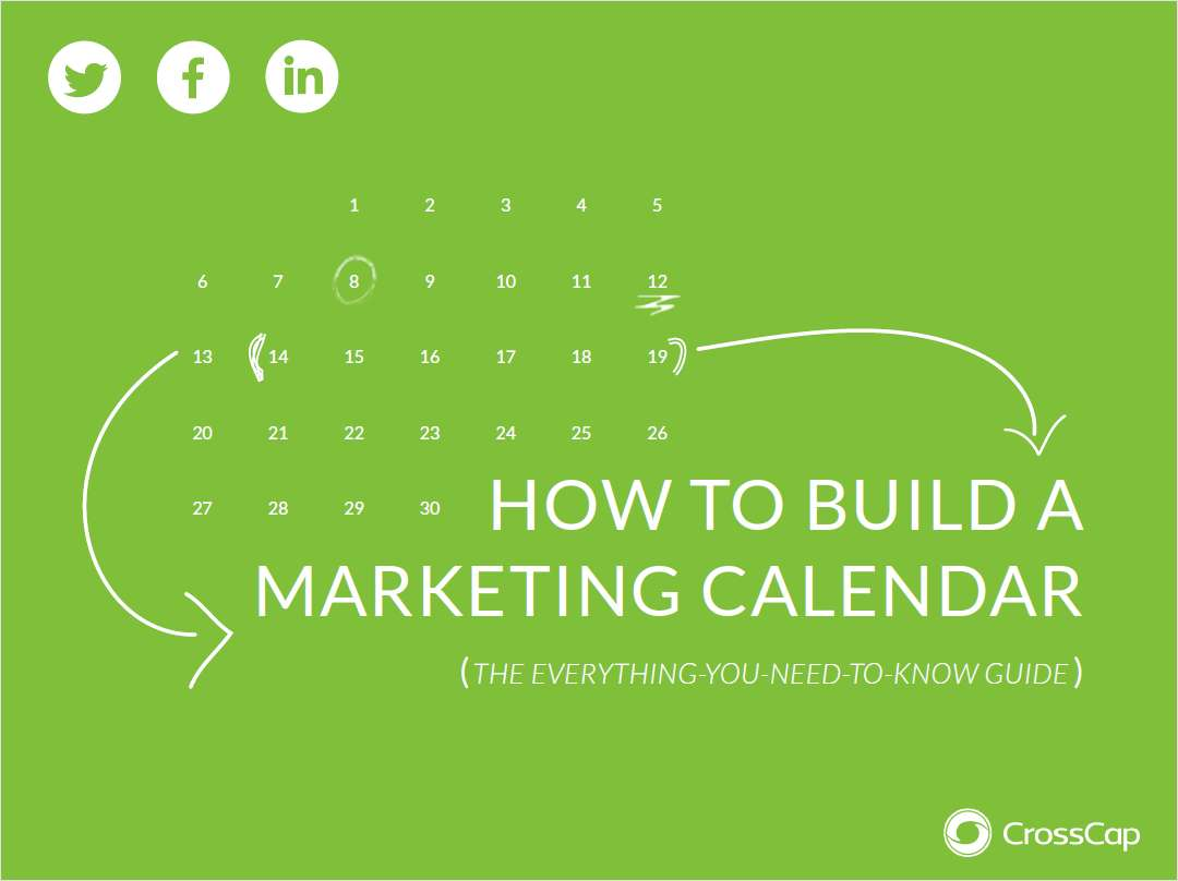 How to Build a Global Marketing Calendar