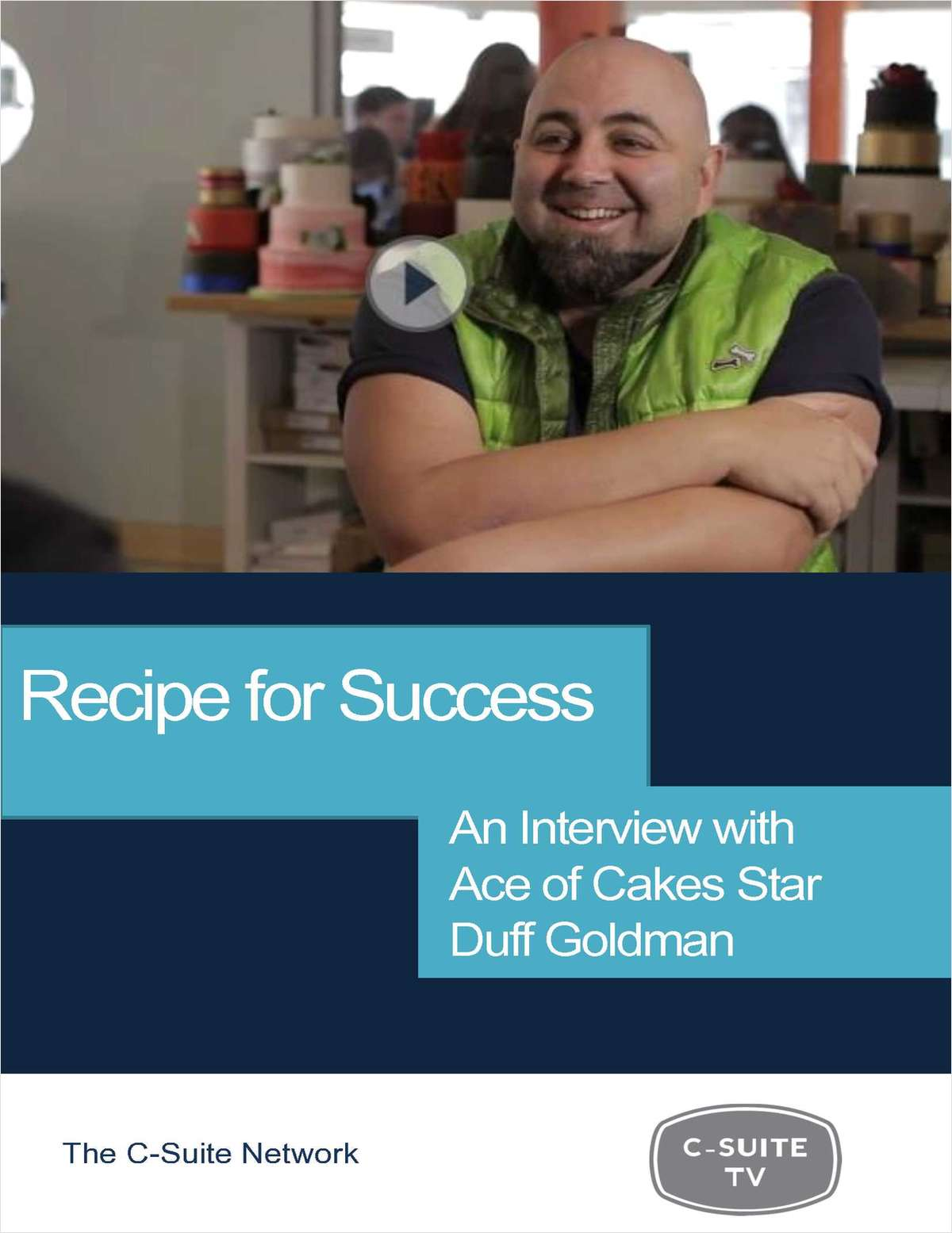 Recipe For Success: Interview with Ace of Cakes Star, Duff Goldman