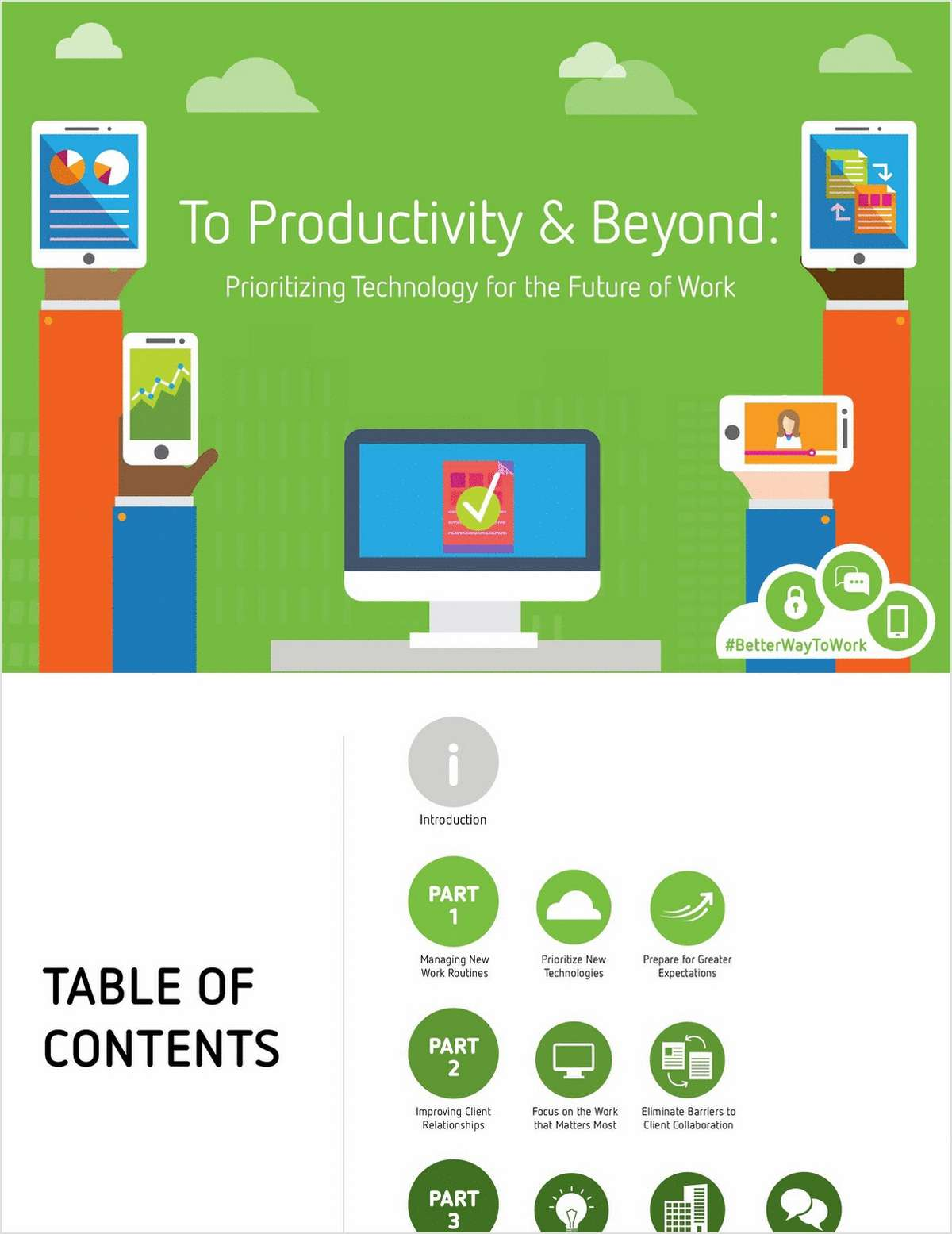 To Productivity & Beyond: Prioritizing Technology for the Future of Work in the Accounting Industry