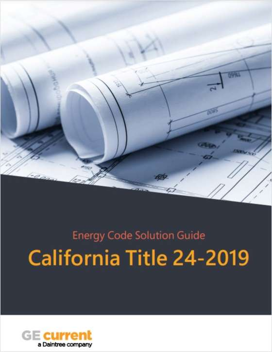 Energy Code Solution Guide  California Title 24-2019