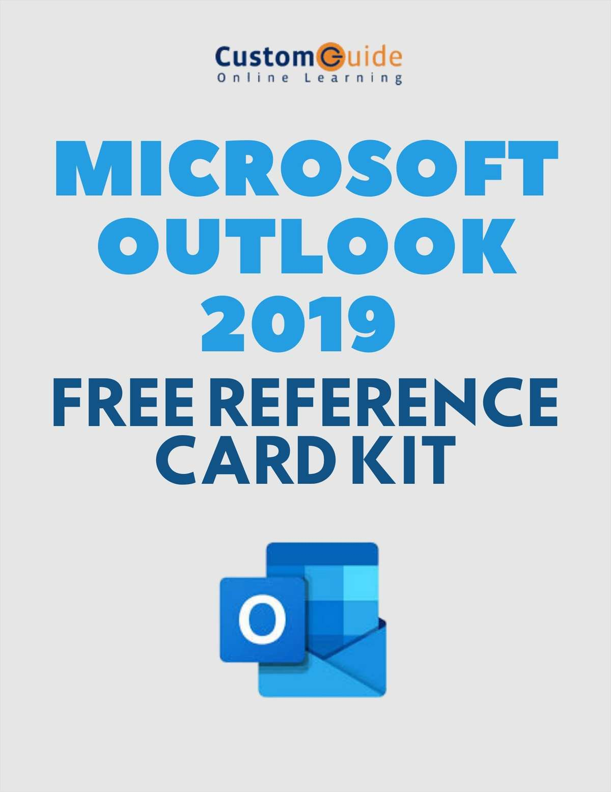 Microsoft Outlook 2019 -- Free Reference Card Kit