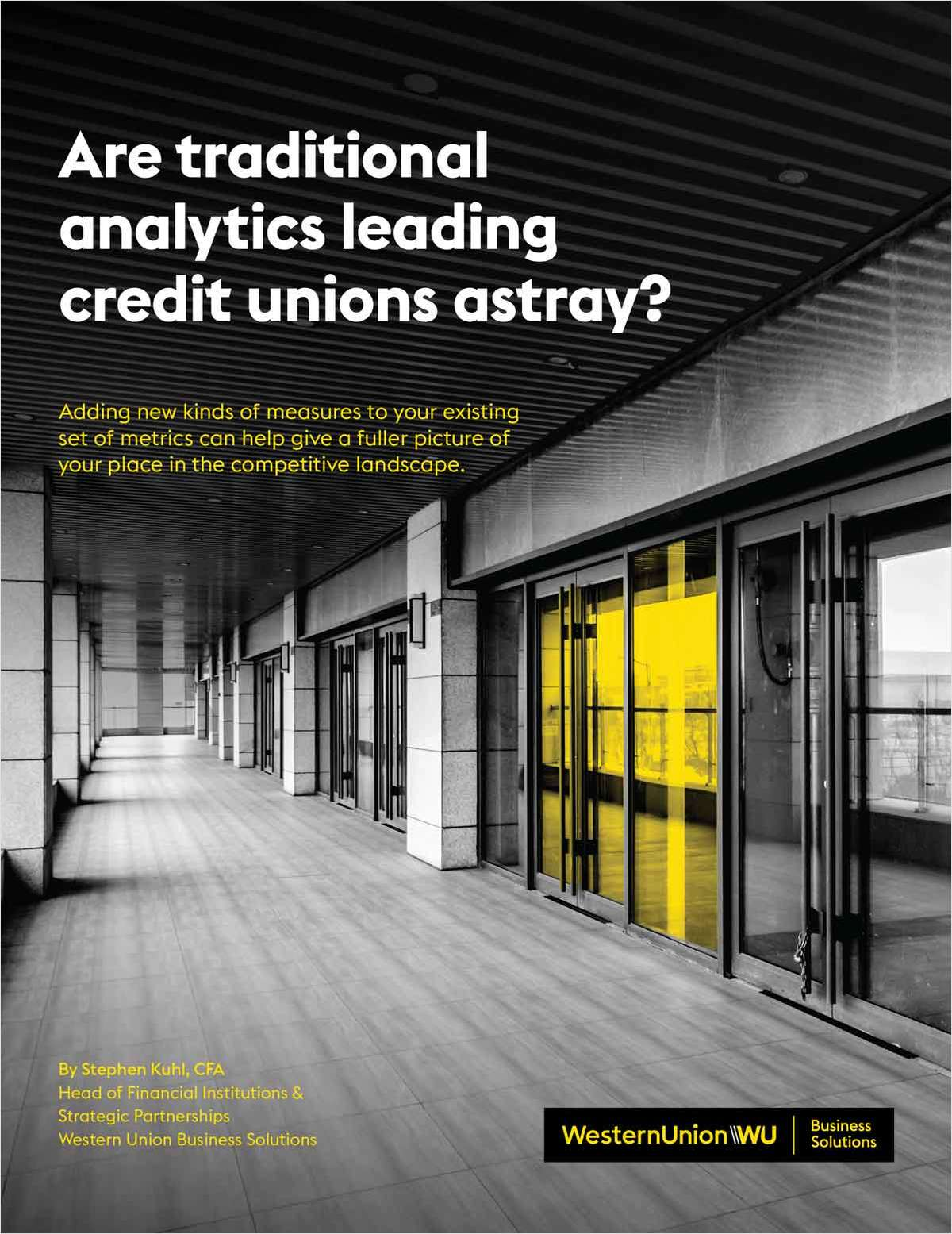 How to Use The Right Analytics to Help Measure Your CU's Performance