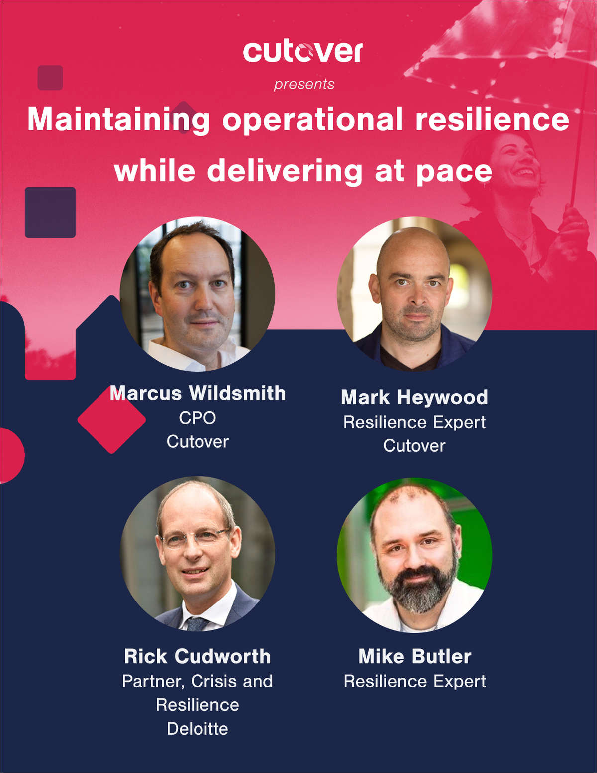 Maintaining Operational Resilience While Delivering at Pace