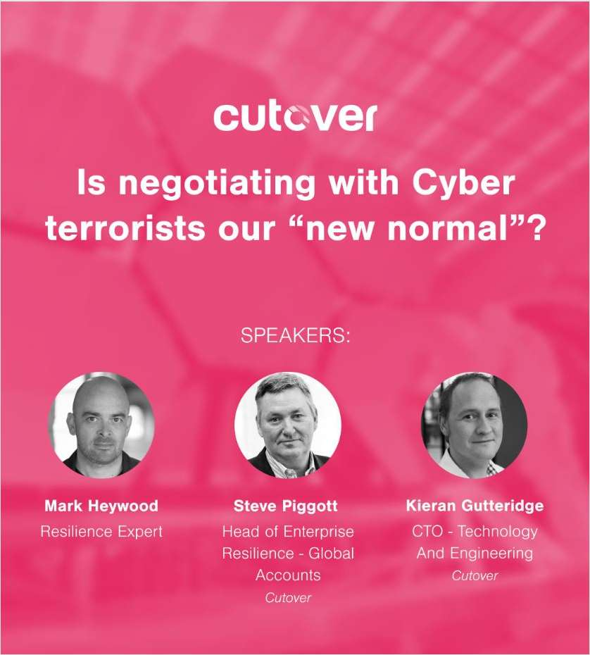 Is negotiating with Cyber terrorists our new normal ?
