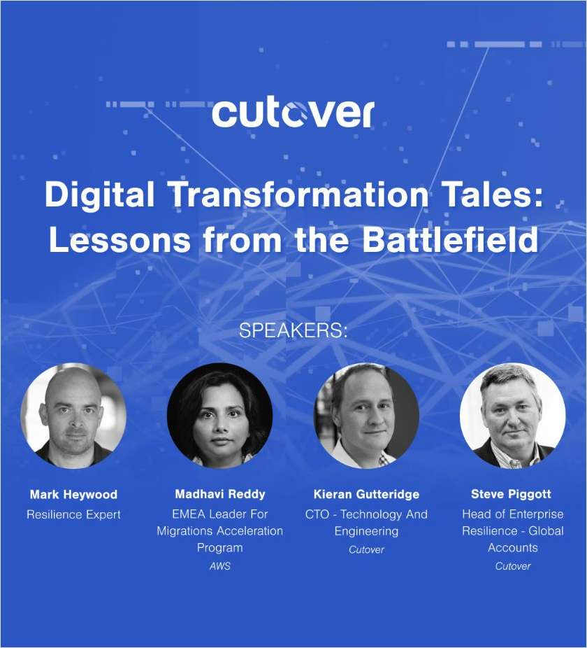 Digital Transformation Tales: Lessons from the Battlefield