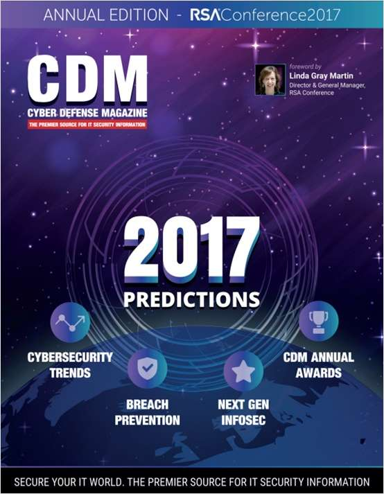 Cyber Defense Magazine - 2017 Predictions