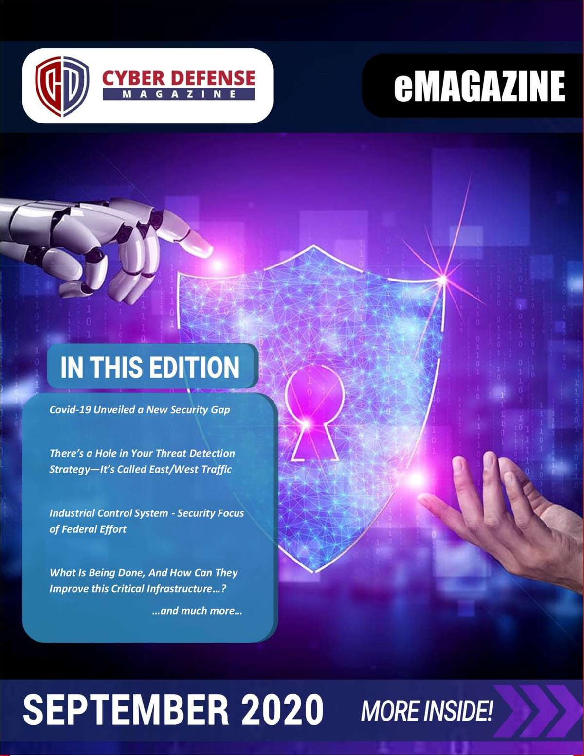 Cyber Defense Magazine September 2020 Edition