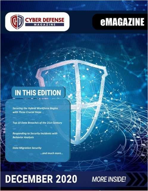 Cyber Defense Magazine December 2020 Edition