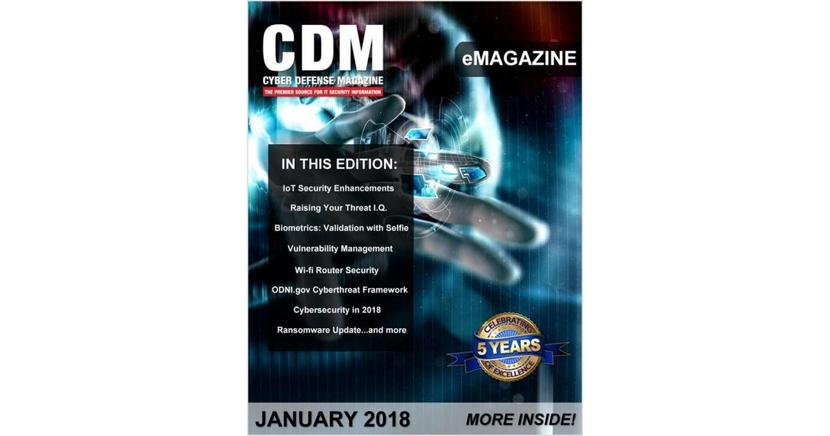 Cyber Defense Emagazine Iot Security Enhancements