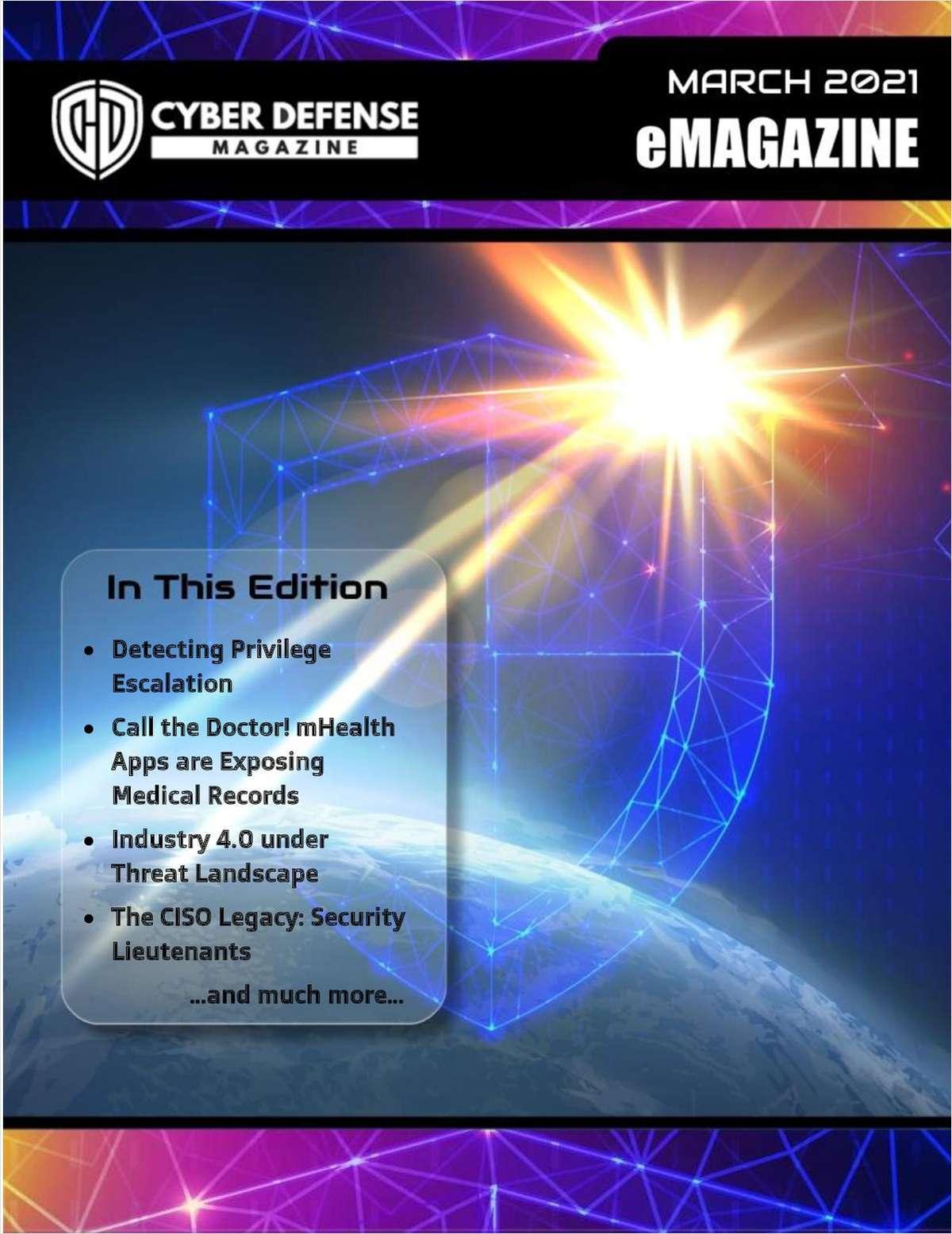Cyber Defense Magazine March 2021 Edition