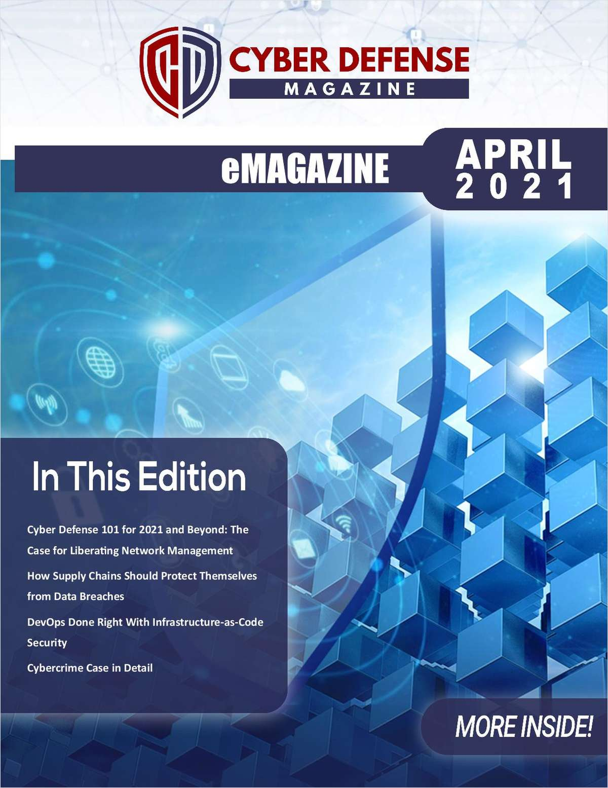 Cyber Defense Magazine April 2021 Edition