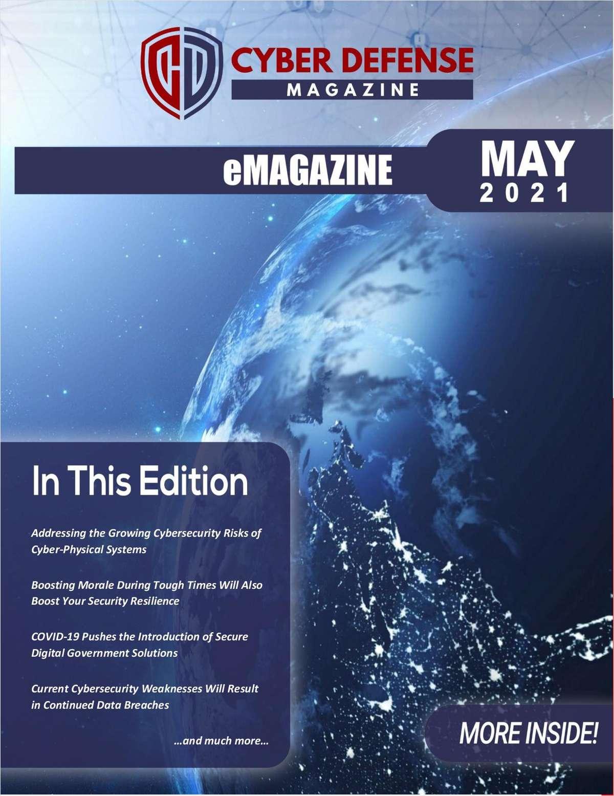 Cyber Defense Magazine May 2021 Edition