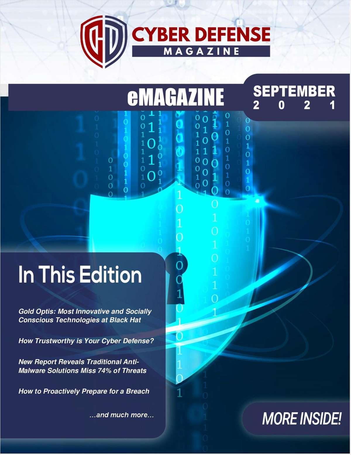 Cyber Defense Magazine September 2021 Edition