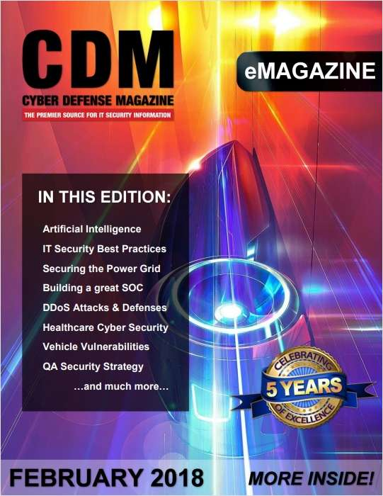 Cyber Defense eMagazine - Artificial Intelligence - February 2018 Edition