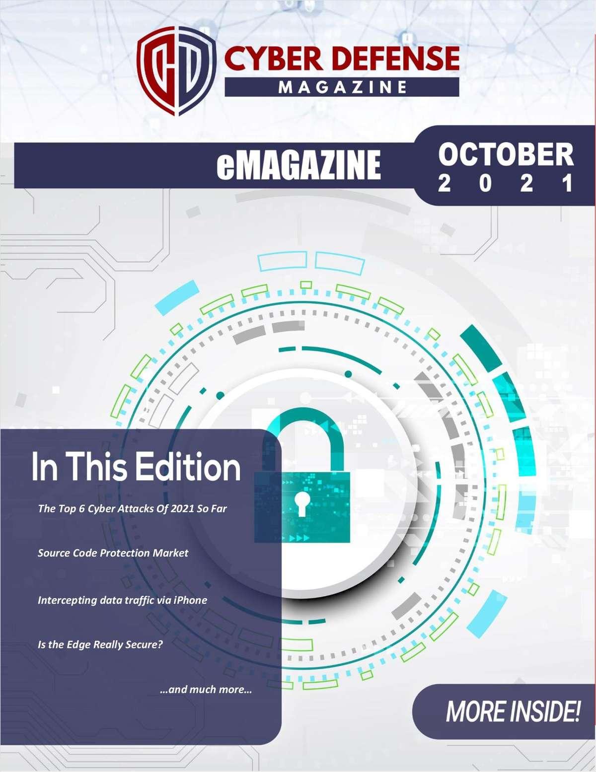 Cyber Defense Magazine October 2021 Edition
