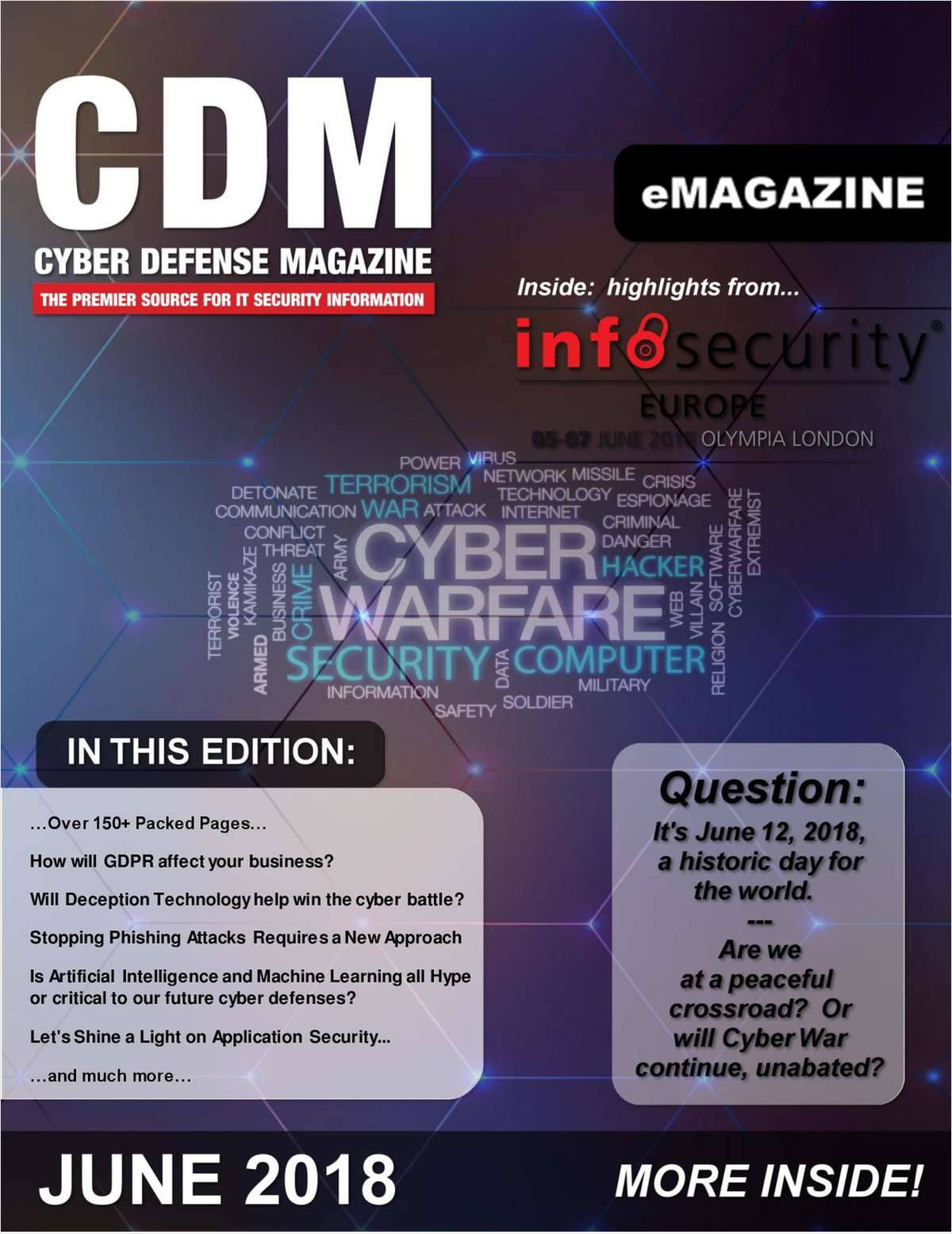 Cyber Defense Magazine - June 2018