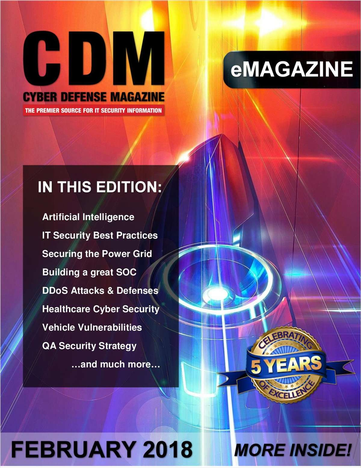 Cyber Defense Magazine - February 2018
