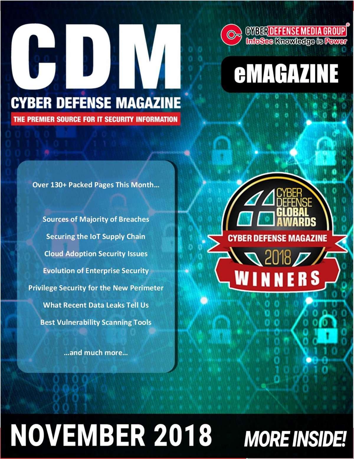 Cyber Defense eMagazine - Evolution of Enterprise Security - November 2018 Edition