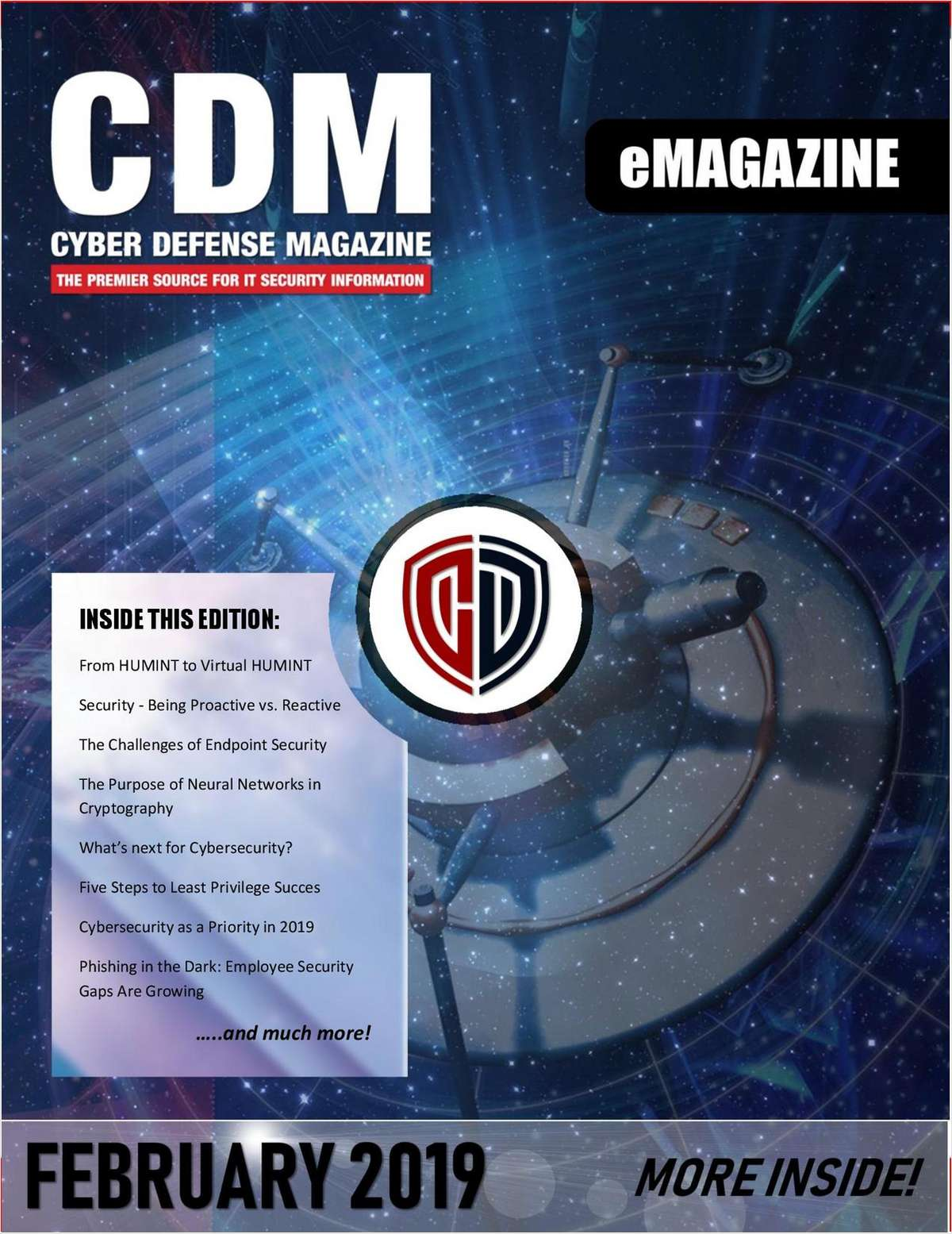 Cyber Defense eMagazine - What's Next for Cybersecurity - February 2019 Edition