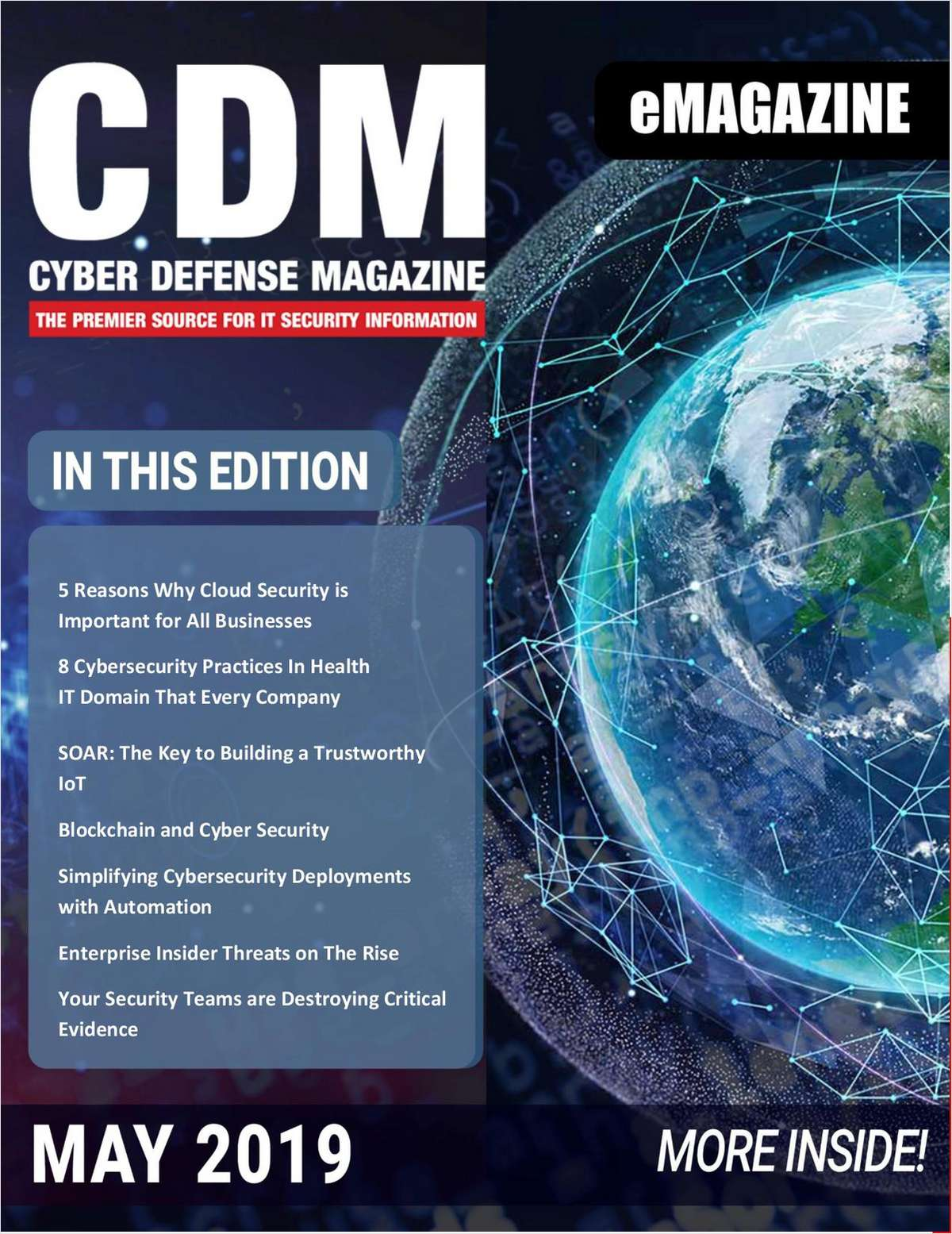 Cyber Defense eMagazine - May 2019 Edition