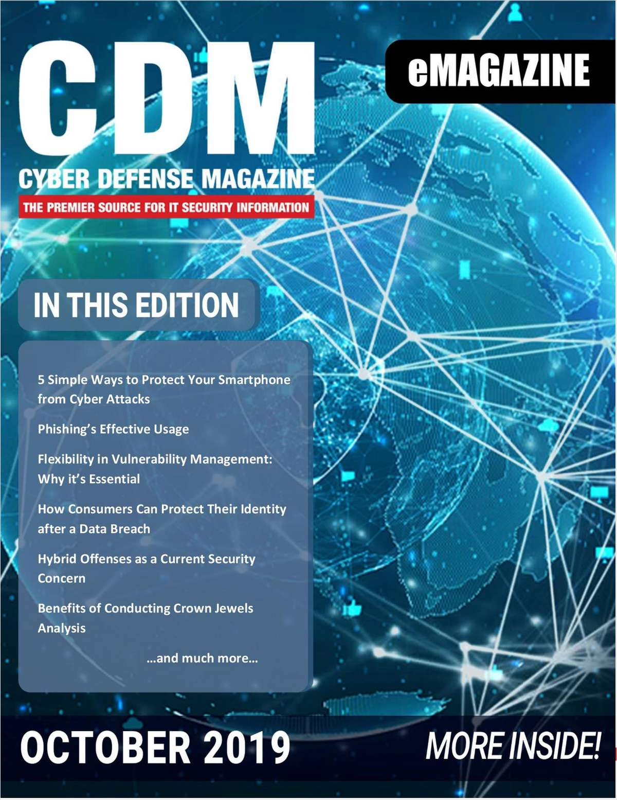 Cyber Defense eMagazine - October 2019 Edition