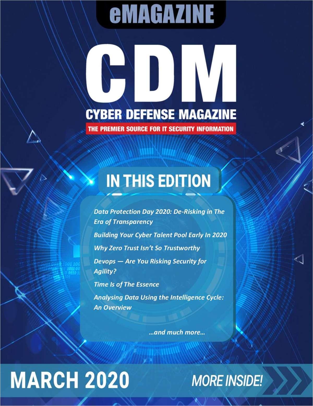 Cyber Defense Magazine March 2020