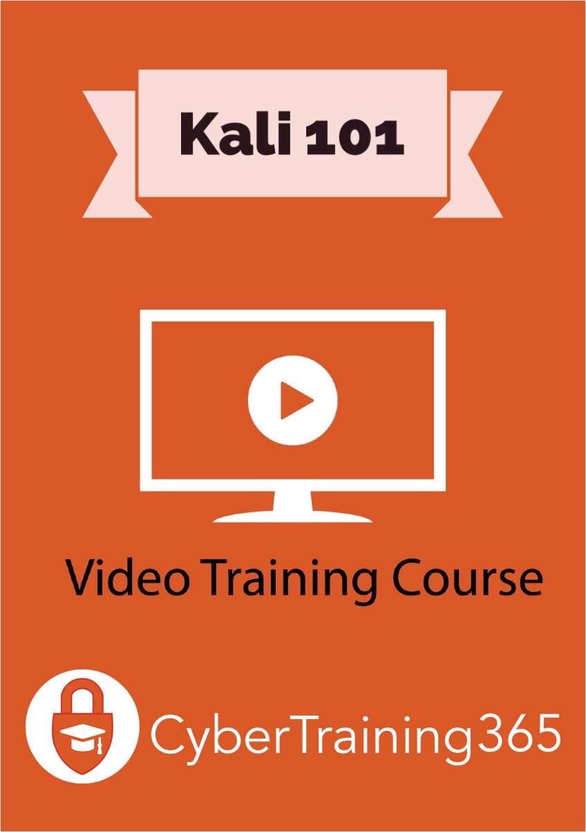 Kali 101 - FREE Video Training Course (a $19 value!)