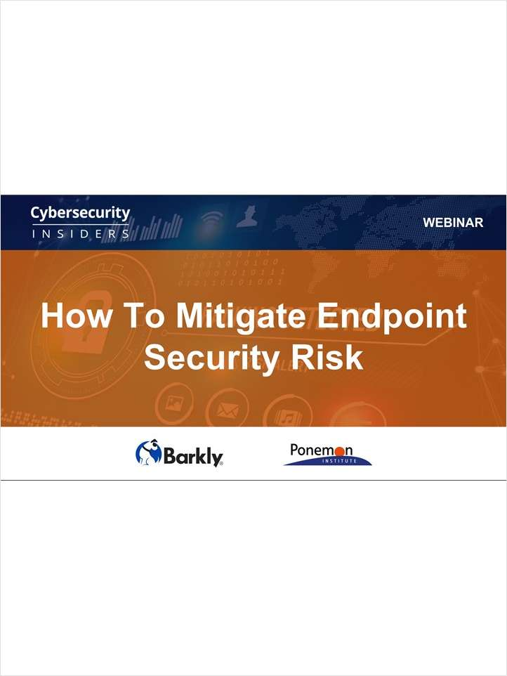 How to Mitigate Endpoint Security Risk