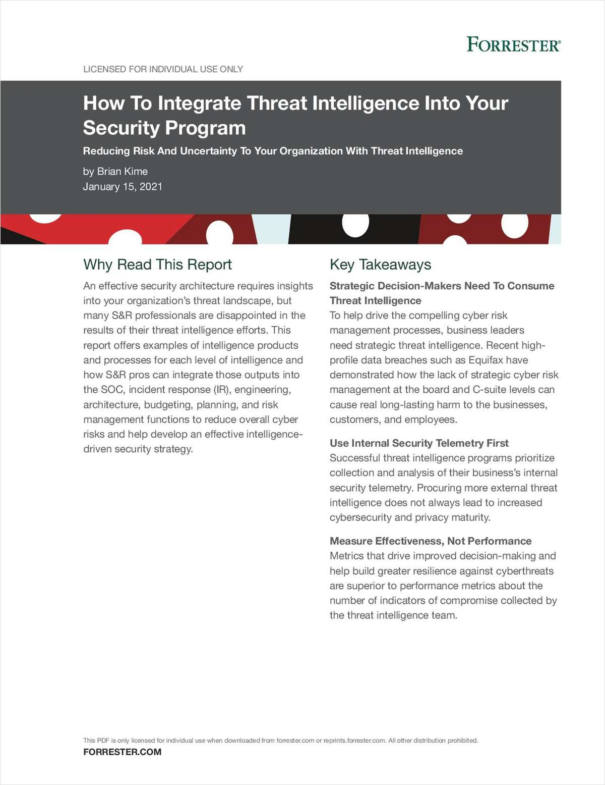 How to Integrate Threat Intelligence Into Your Security Program