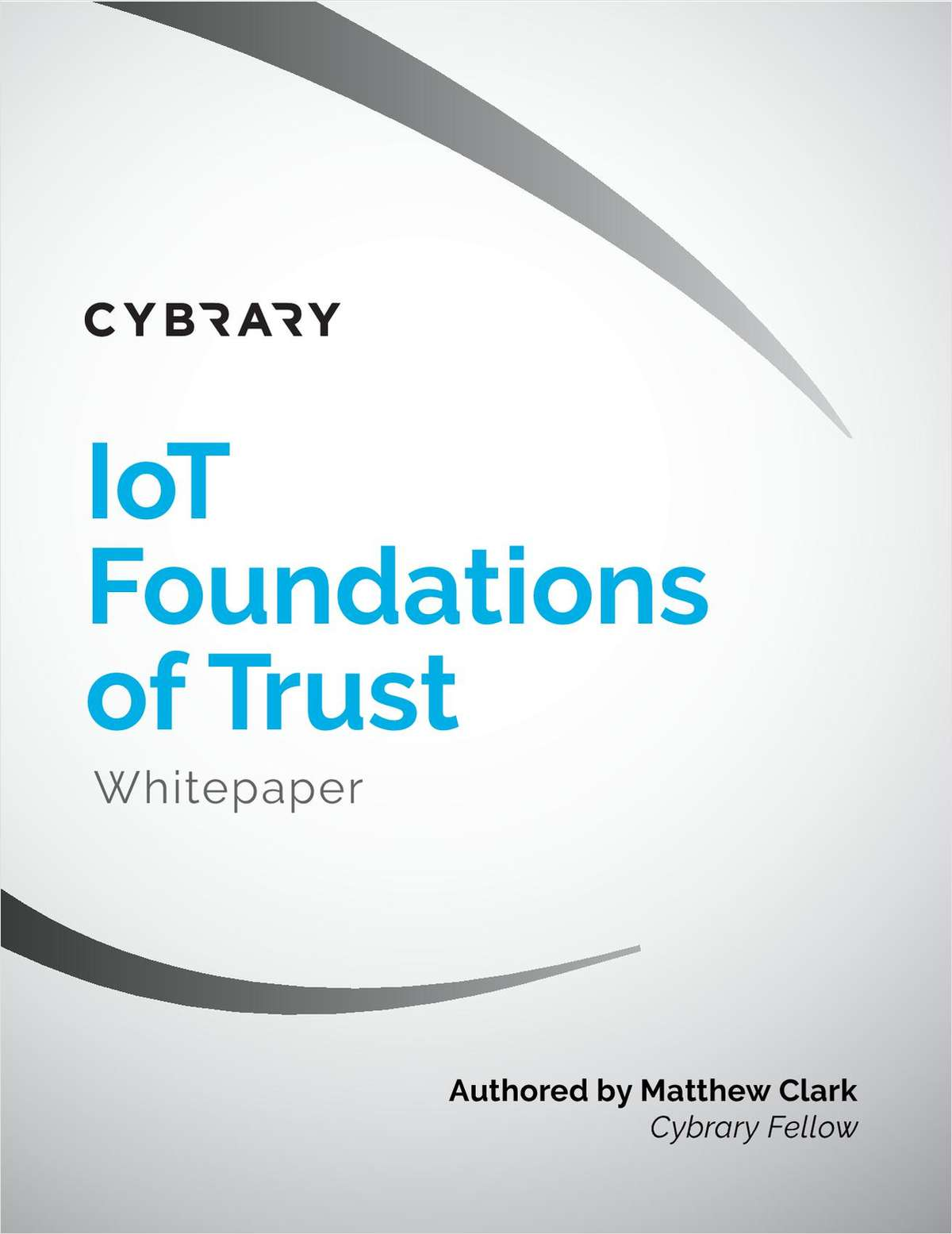 IoT Foundations of Trust