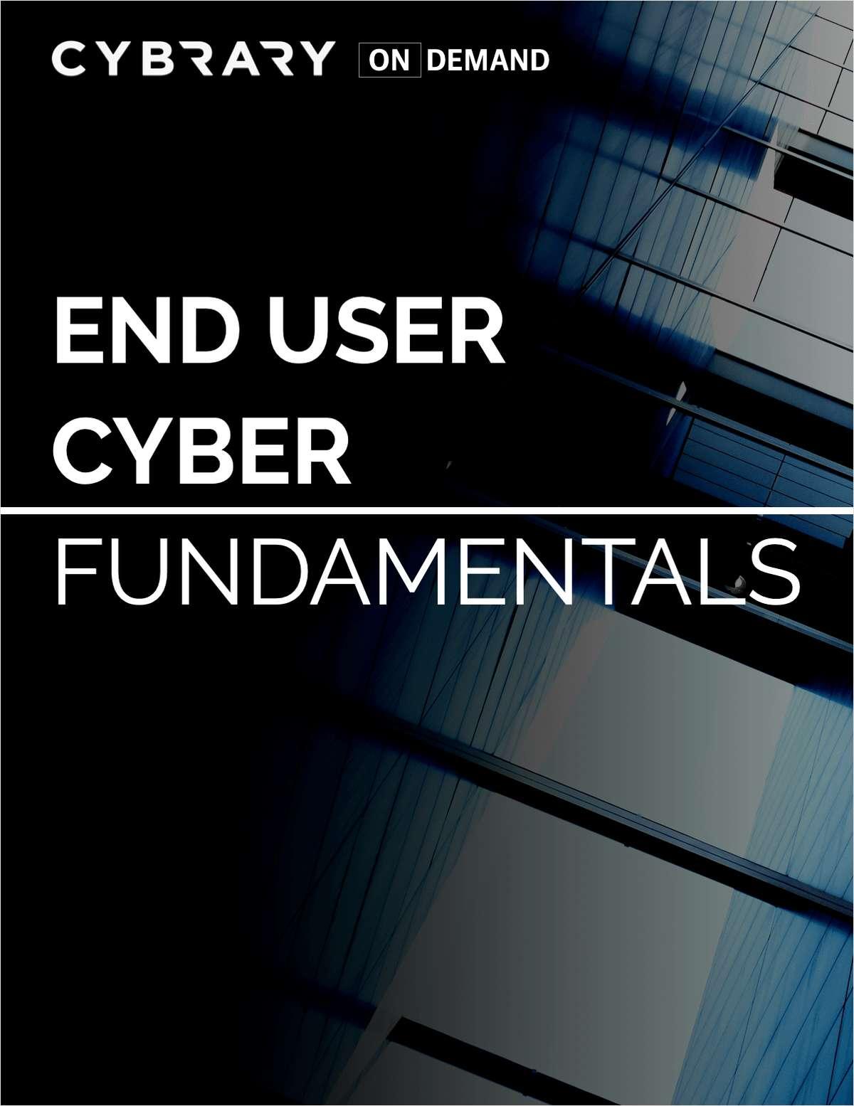 End User Cyber Fundamentals