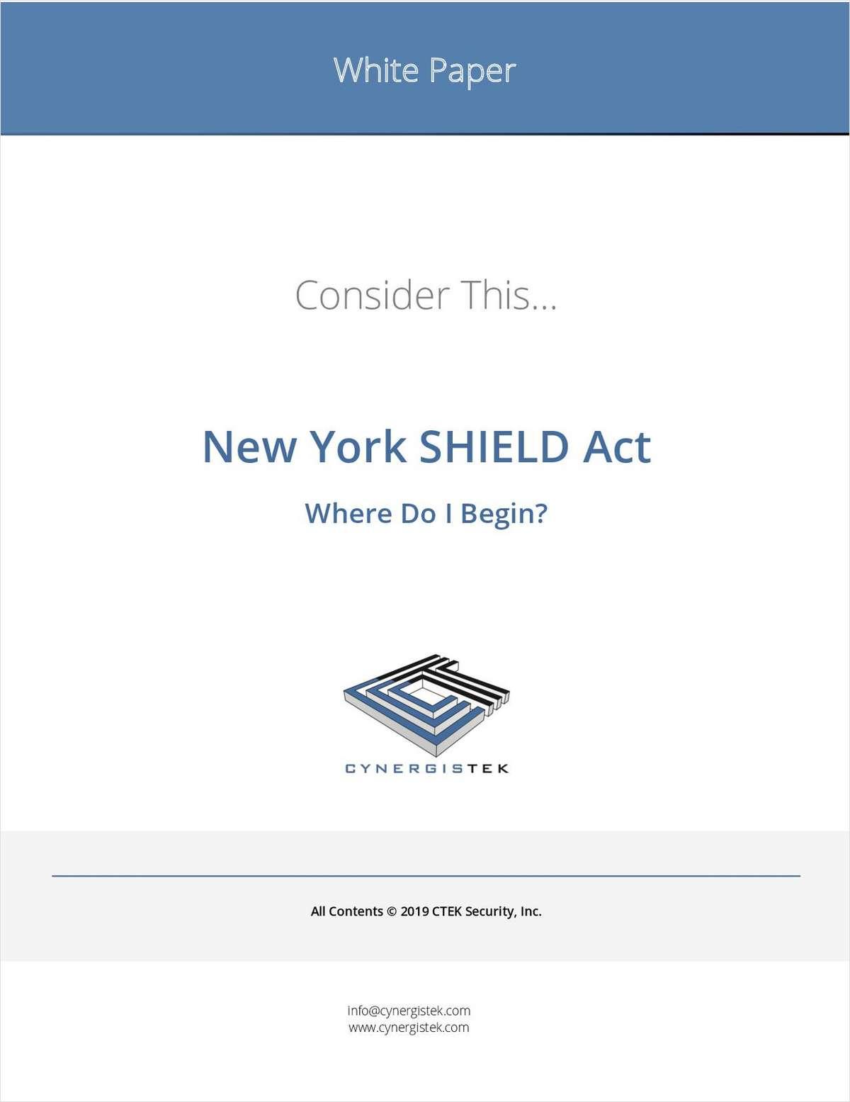 New York SHIELD Act: Where Do I Begin?