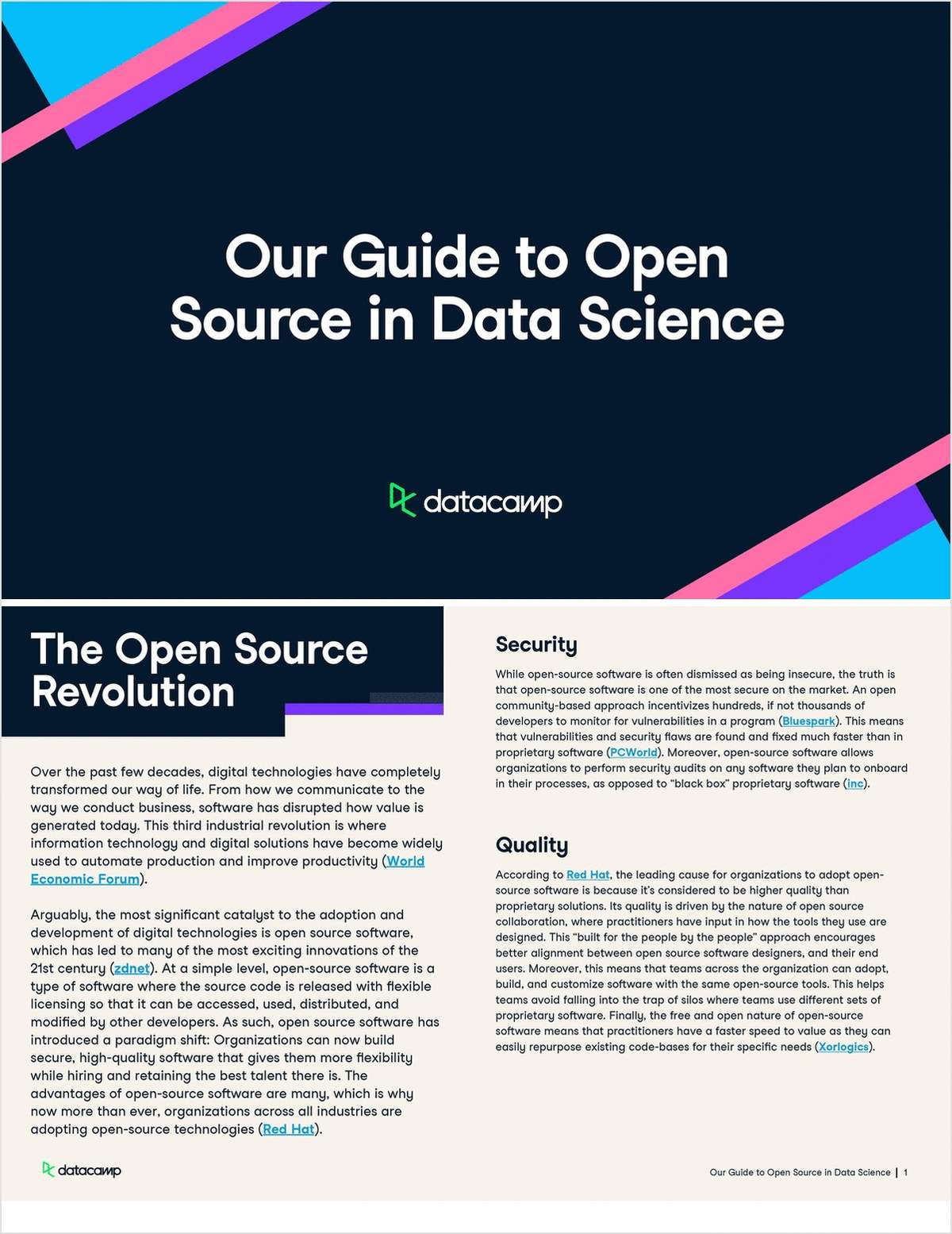 Whitepaper | Our Guide to Open Source in Data Science